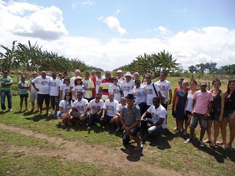 Caravana do Fórum no povoado Pacas - Cópia