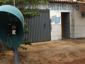Destacamento da Polícia Militar em Ribamar Fiquene .(Foto/Divulgação)