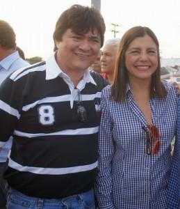 Roseana Sarney e Léo Cunha (Foto/Divulgação)
