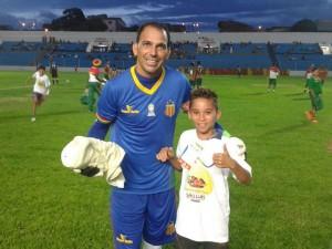 Rodrigo Ramos goleiro do Sampaio, em Bacabal (Foto/Divulgação)