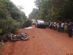 Tabatinga local do acidente (foto/M. Rodrigues)