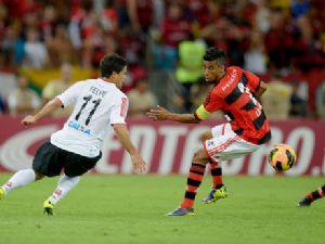 Lance do jogo Flamengo campeão  (foto/divulgação)