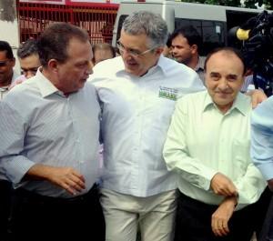 Luís Fernando com Alexandre Padilha e Madeira (foto/divulgação)