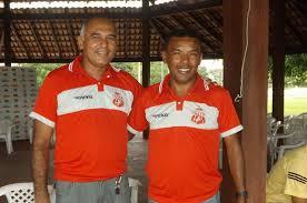 Vice-presidente Buzuca e presidente Edvaldo Cardoso (foto/divulgação)