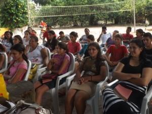 Jovens da Assembleia de Deus em Ribamar Fiquene (foto/M.Rodfrigues)