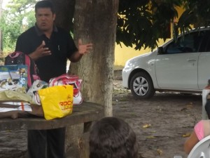 Pr. Antonilton Sousa em Ribamar Fiquene (foto/M.Rodrigues)