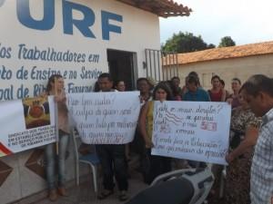 Professores de Ribamar Fiquene (Foto/Divulgação)