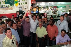 Senador Lobão Filho na Região dos Cocais (Foto/Divulgação)
