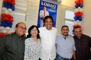 João Silva, Fátima Avelino, Lobão Filho e José Carlos (Foto/Divulgação)