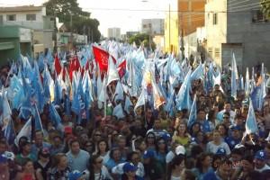 Caminhada das mulheres em Imperatriz (Foto/Erico)
