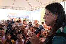 Governadora fala dos investimentos na região (Foto/Divulgação)
