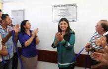 Roseana inaugura hospital em São Pedro dos Crentes (Foto/Divulgação)