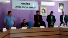 Mesa diretora da Câmara (Foto/Gil Carvalho)
