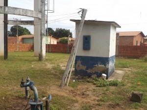 Casinha do painel da bomba (Foto/Divulgação)