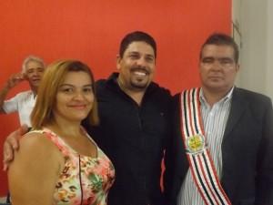 Ivoneide, Dioni e Salomão Filho (Foto/Marcelle Vitória)