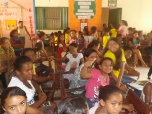Estudantes do ensino público fiquenense (Foto/Arquivo)