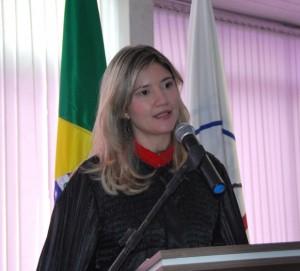 Promotora de justiça Paloma Ribeiro Gonçalves Reis