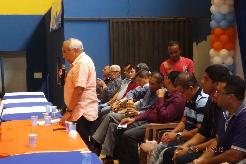 Gastão Vieira participa de encontro do PROS em Açailândia (Foto: Divulgação)