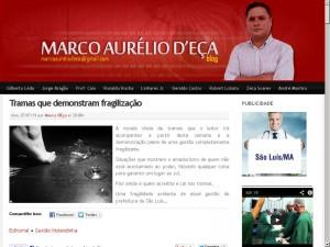 Blogueiro Marco D'eça tem sofrido ataques covardes