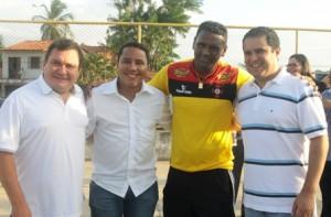 Ivaldo Rodrigues, Raimundo Penha, Kleber Pereira e Edvaldo Holanda Júnior
