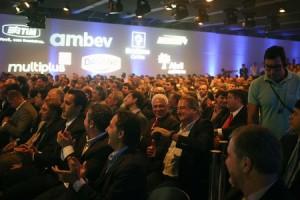 Presidentes de clubes participam de evento em São Paulo para apresentar resultados do programa (Foto: Marcos Ribolli)