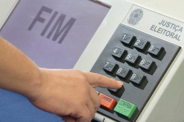 urna eletronica - voto - eleição - Divulgação-TSE