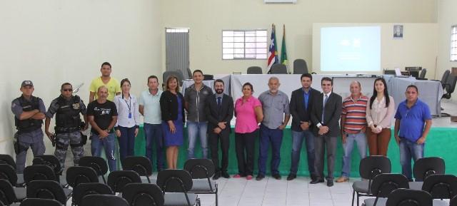 A solenidade de inauguração contou com a presença de representantes da Cemar e poder público