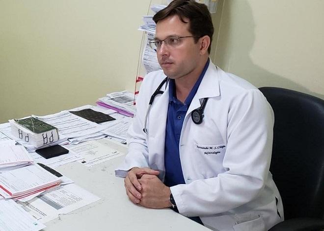 Resultado de imagem para médico infectologista Fernando Chagas