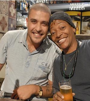 Diogo Nogueira e Mart'nália (Foto: Reprodução)