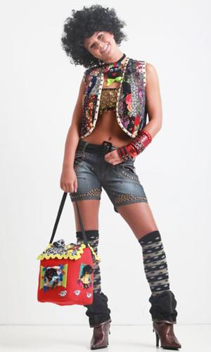 Modelo: Hannah Svensson / Foto: Ayrton Valle / Beleza: Cleo Pacheco/ Peruca: Bennys