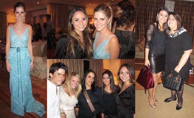 Lala Rudge, ainda mais linda do que de costume, num modelo em parceria dela  com Martha Medeiros  a grande anfitriã da noite, novamente, com Maria  Fernanda ... cbb5cc05d7
