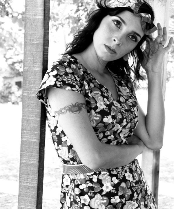 A cantora maranhense Luciana Simões (Foto: Reprodução).