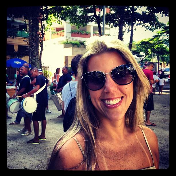 Anna Graziella Costa, durante o último Carnaval carioca. (Foto: Instagram)
