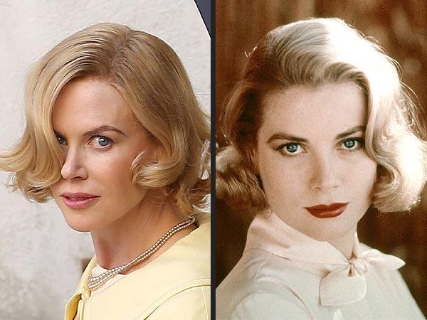 Grace versus Grace: Kidman no papel da princesa de Mônaco; e a soberana monegasca em si.
