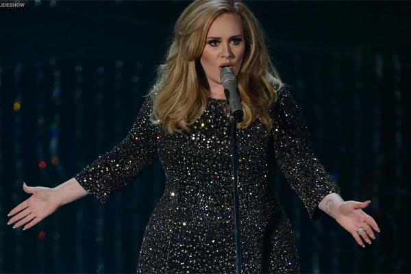 E Adele, que se apresentou com Skyafall, que levou o prêmio de Melhor Canção Original