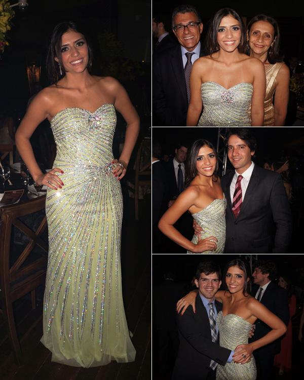 Ana Theresa / com os pais, Fernando e Tereza Sarney / com o namorado Felipe Teixeira De Carvalho / e comigo.
