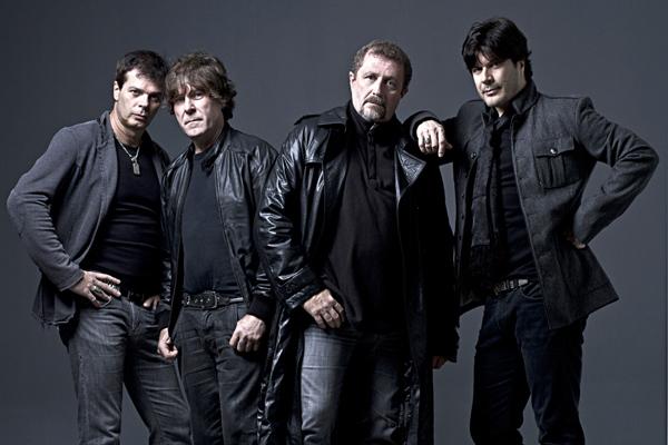 Paulo Ricardo, Luiz Schiavon, Paulo P.A. e Fernando Deluqui. O quarteto do RPM (Foto: Divulgação)