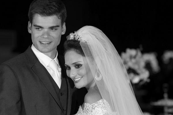 Os protagonistas do casamento que sacudiu São Luís em julho.