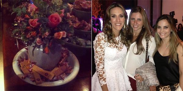 Imagem do Zé Pereira publicada pelo Instagram da @glamourbrasil / Camila Nunes, anfitriã da noite da última segunda, com Isabela Murad e Rafaela Albuqueruqe, sócias da Casar Bem, que fizeram questão de prestigiar a festa de 3 anos do blog Say I Do.