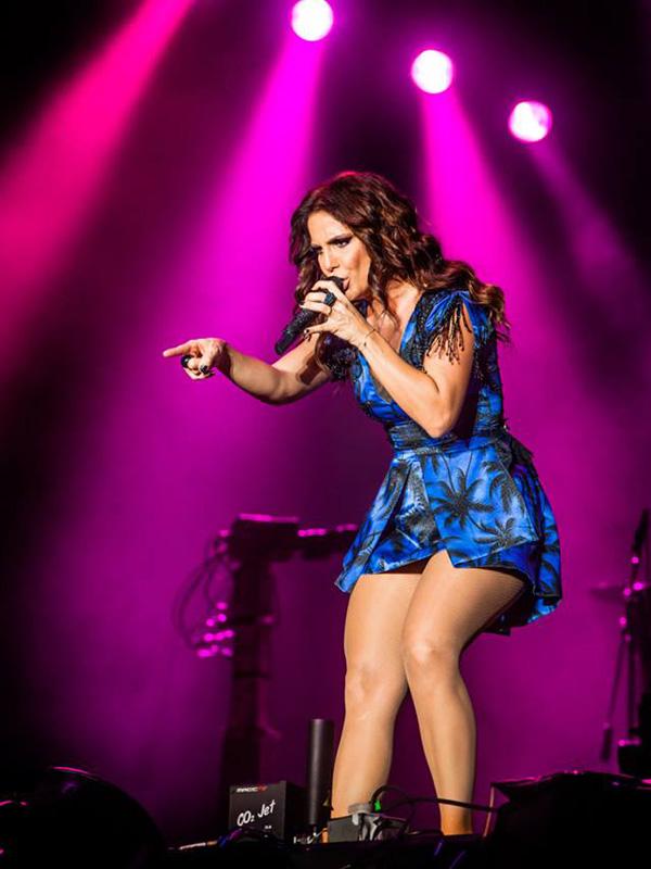 Ivete durante o show na última edição do Rock In Rio (Foto: Divulgação)