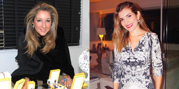 A designer Letícia Linton / e Lara Moreira Soares (Fotos: Arquivo)