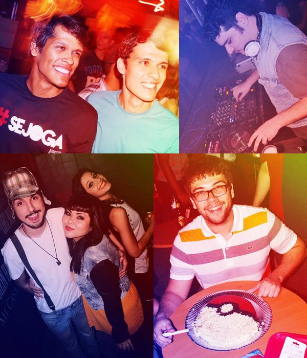 Rennan Rodrigues e Marco Marão / Rivandré Basileu/ Kaio Gaspar,  Mag Oliveira e Carol Vieira / e Victor Fecury. (Foos: Jader Castro via Facebook)