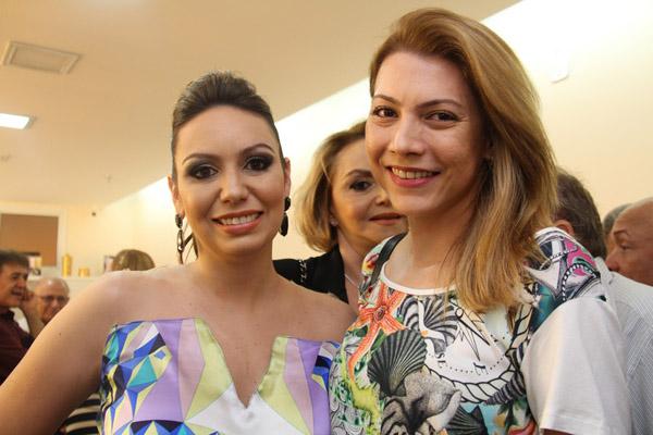 Marina Gaspar e Micaelly Rolim.