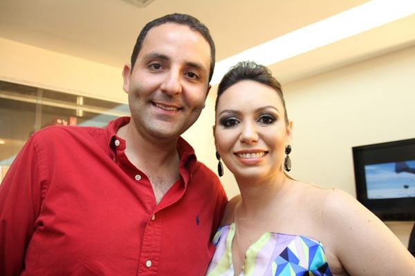 Eric Murad e Marina Gaspar