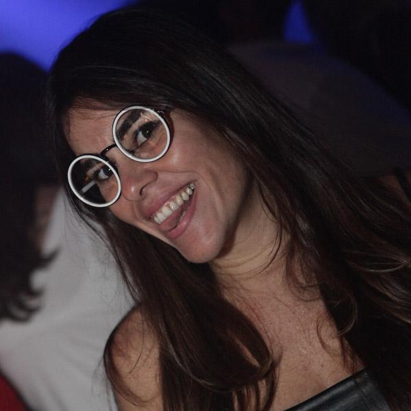 Ericka Braga, em recente agito social na Ilha (Foto: Eduardo Brandão)