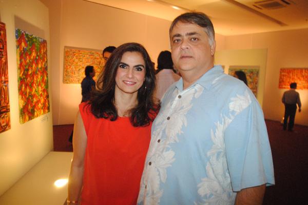 Ludmila e José Fecury Neto