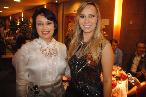 ... Hosana e Marina Reis...