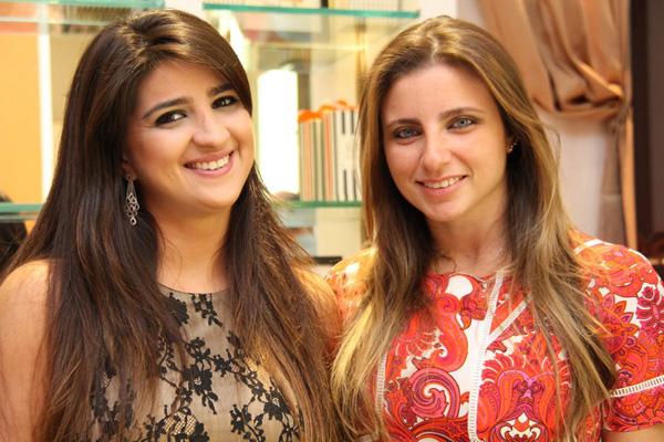 As arquitetas Milena Estrela e Isabela Murad.