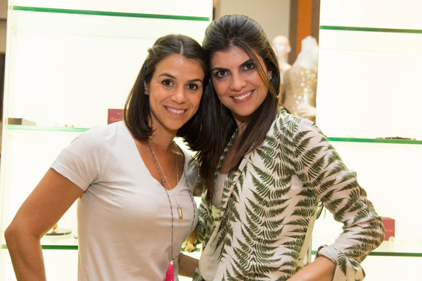 Carol Keutenedjian e Renata Maaz, da Epiphanie Joias (Fotos: Danielle Vieira)