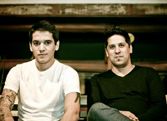 Léo Verão e Daniel Freiras (Foto: Reprodução)